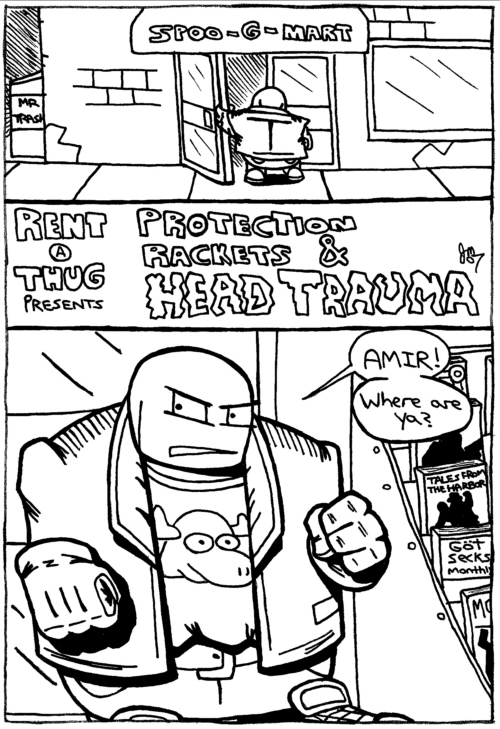Rent-A-Thug #16 – Protection Rackets & Head Trauma part 1