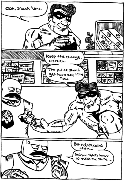 Rent-A-Thug #25 – Protection Rackets & Head Trauma part 10