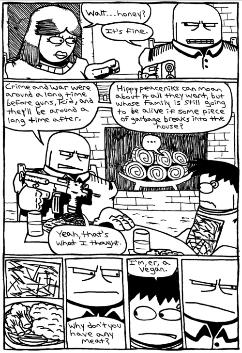 Rent-A-Thug #139 – Dinner With Daddy Dearest part 5