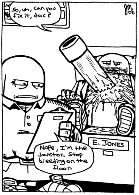 Rent-A-Thug #160 – Dr. Janitor