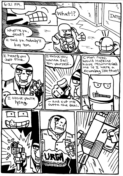 Rent-A-Thug #216 – Two Crooks, a Croc, and a Fine Pair of Shoes part 2