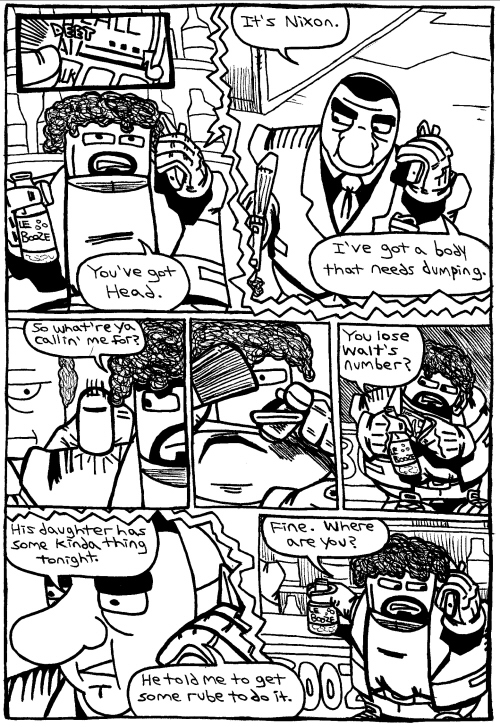 Rent-A-Thug #219 – Two Crooks, a Croc, and a Fine Pair of Shoes part 5