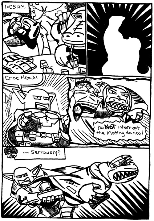 Rent-A-Thug #234 – Two Crooks, a Croc, and a Fine Pair of Shoes part 20