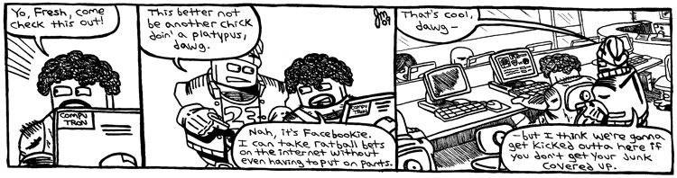 Rent-A-Thug #238 – Facebookie