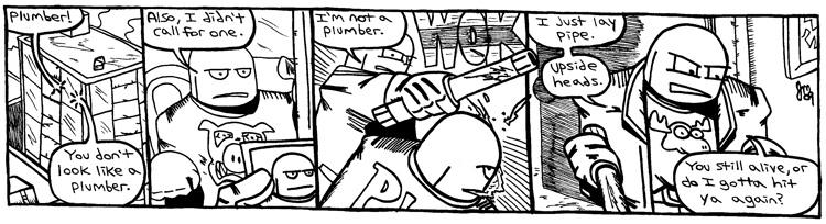 Rent-A-Thug #240 – Layin' Pipe