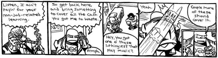 Rent-A-Thug #557 – Charlie No-Aim Goes to College part 10